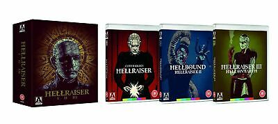 Hellraiser Trilogy Blu-Ray Collection Region B UK Horror Classic New & Sealed • 27.95£