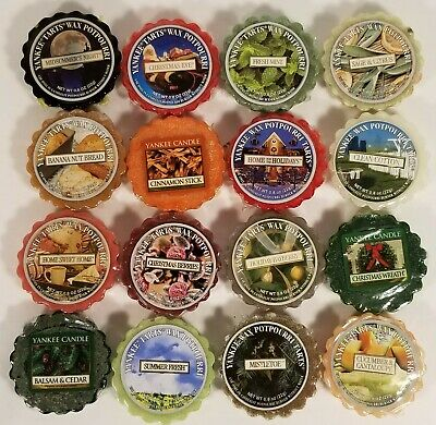 Yankee Candle Tarts Wax Potpourri (Lot Of 16) Various Scents ~ Sealed • 17.78£