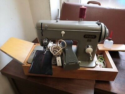 Pfaff 60 Semi Industrial Heavy Duty Upholstery And Fabric Sewing Machine • 180£