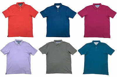£7.95 • Buy Mens Polo Shirts Ex Marks Spencer Shirt Top Pique 100% Cotton M&S Short Sleeved