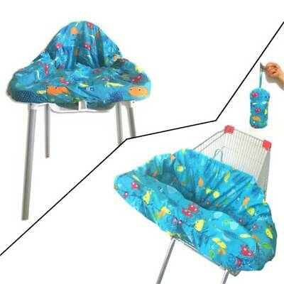 £9.79 • Buy Baby Shopping Trolley Cart Seat Cover Child High Chair Protector Mat T3