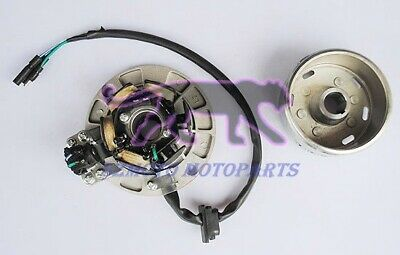 AU65 • Buy 6-Coil Magneto Stator With Magneto Rotor Fit For YX 140,150,160CC Engine