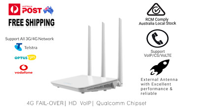 AU127 • Buy 4G LTE Modem Wi-Fi Router With VoIP B936 ✔700MHz Band 28 ✔SIM Card Slot ✔Etherne