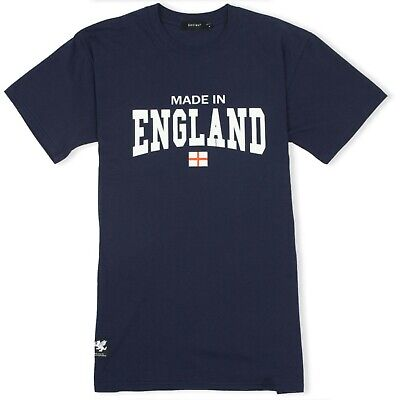 Made In England T-shirt With Cross Of St George - St George's Day Clothing, Flag • 16.50£