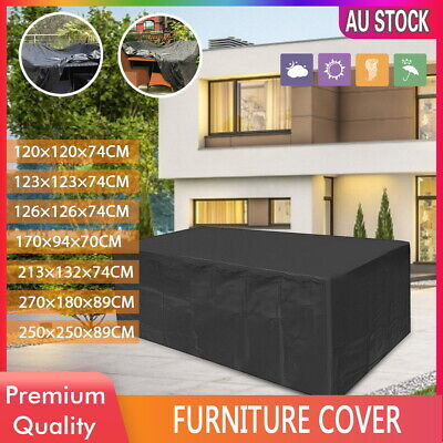 AU23.99 • Buy IN/Outdoor Furniture Cover Garden Patio Rain UV Table Protector Sofa Waterproof