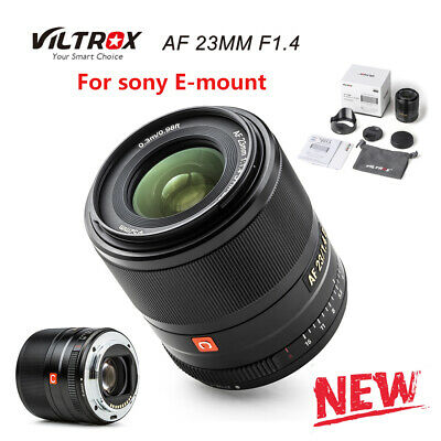 $ CDN395.11 • Buy VILTROX 23MM F1.4 AF Camera Lens Large Aperture For Sony E Mount A7 A6000 A6300