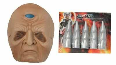 £4.95 • Buy Halloween Mask Dr Who Set And Claws Davros Fancy Dress Up Face Mask Teens/Kids