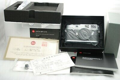 £3376.85 • Buy  RARE NEAR MINT BOXED Leica MP 0.72 35mm Rangefinder Camera In Chrome #3804