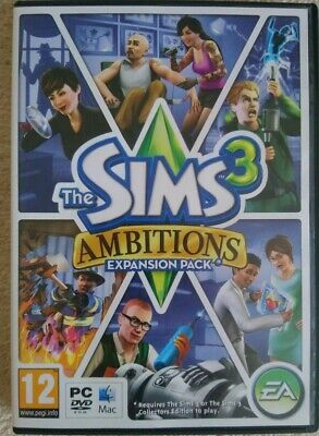 The Sims 3: Ambitions (PC: Mac, 2010) Expansion Pack #ST1607 • 4.99£