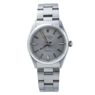 $ CDN3886.16 • Buy Rolex Air King 5500 Oyster Perpetual Stainless Steel Automatic Men's Watch 34mm
