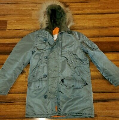 $149.99 • Buy Vintage US Military Wolf Cold Weather Parka N3B  Green