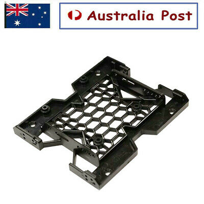 AU9.99 • Buy PC Metal 2.5  SSD HDD To 3.5  Mounting Adapter Bracket Dock Hard Drive Holder