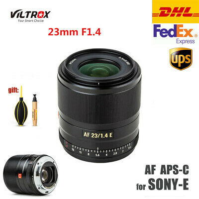 AU413.36 • Buy Viltrox 23mm F1.4 STM Lens Auto Focus Large Aperture For Sony E Mount A7R3 A6300