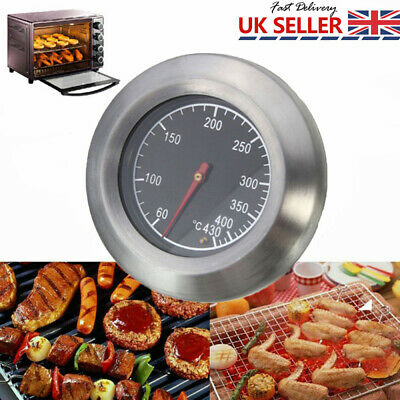 3  BBQ Pit Grill Thermometer Cooking Dial Temp Gauge Smoker Temperature 60-430 ℃ • 6.25£