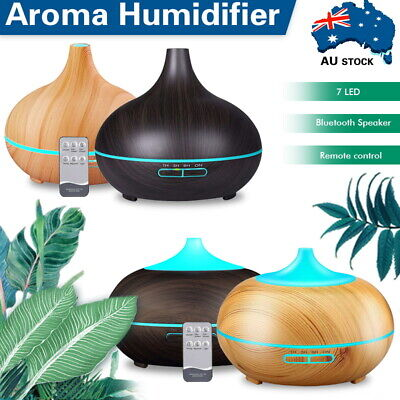 AU28.59 • Buy Bluetooth Speaker Aromatherapy Diffuser Essential Oil Humidifier Air Purifier AU