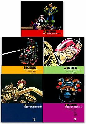 Judge Dredd: Complete Case Files Volume 11-15 Collection 5 Books Set (Series 3)  • 65.90£