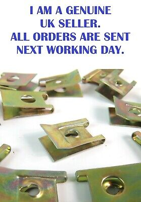 £2.95 • Buy U Nuts, Speed, Spire Captive, Clips,  Self Tapping Screws, Pack Of 10.
