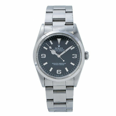 $ CDN10446.67 • Buy Rolex Explorer 1 14270 Unpolished S Serial Stainless Automatic Men's Watch 36mm