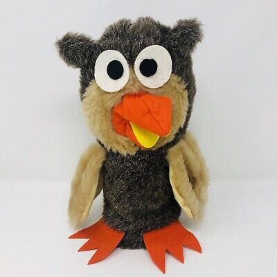 £34.61 • Buy Vintage Crazy Critters Owl Hand Puppet