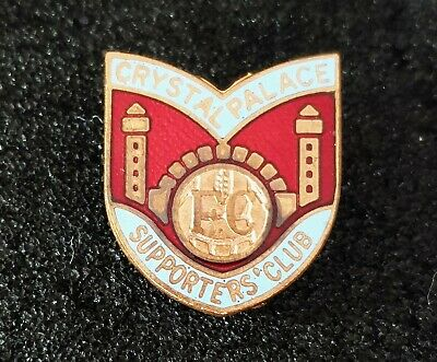 £19.65 • Buy Enamel Football Badge CRYSTAL PALACE FC - SUPPORTERS CLUB