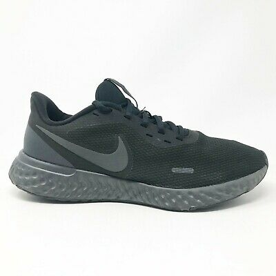 $ CDN59.98 • Buy Nike Womens Revolution 5 BQ3207 001 Black Running Shoes Lace Up Low Top Size 11