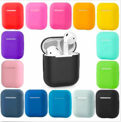 AU4.95 • Buy Shockproof Case Silicone Cover Gel Skin Holder For Apple Airpods Airpod 1 2