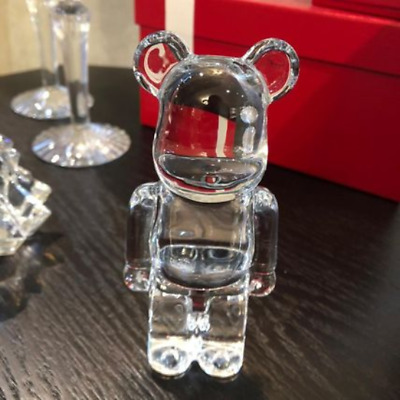 $508 • Buy Be@rbrick Baccarat Medicom X Baccarat Clear Crystal Bearbrick 200% Japan
