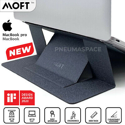 AU38.40 • Buy MOFT Lightweight Invisible Portable Laptop Adjustable Fold Mount Stand MacBook
