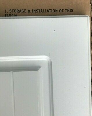 B&Q Matt White Shaker Country Style Kitchen Unit Cabinet Cupboard Doors + Drawer • 16£