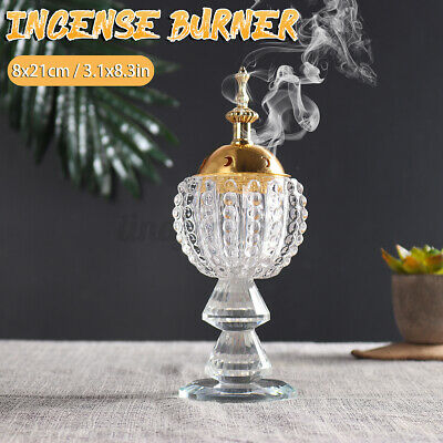 Arabian Incense Burner Bakhoor Metal Eid Traditional Mabkhara Home Decor • 13.89£