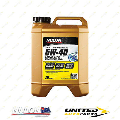 AU114.99 • Buy NULON Full Synthetic 5W-40 Long Life Engine Oil 10L For ASTON MARTIN DB7 6.0 V12