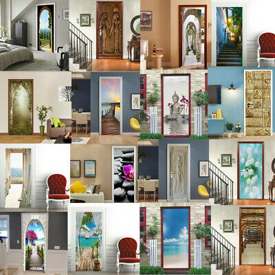3D Pattern Wall Wall Sticker Decals Self Adhesive Mural Home Deco Vinyl • 16.39£