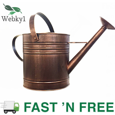 AU45.66 • Buy New Holman 9L Copper Finished Garden Watering Can W/ Handles,Watering Equipment