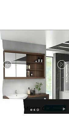 Bathroom Mirror Cabinet • 110£