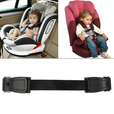 Car Seat Buggy Highchair Safety Harness Strap Lock Anti Escape Child Chest Clip • 4.19£
