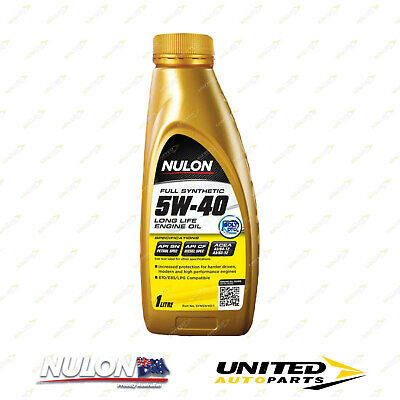 AU25.99 • Buy NULON Full Synthetic 5W-40 Long Life Engine Oil 1L For MERCEDES-BENZ C200K