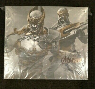 AU500 • Buy Rare Hot Toys Chitauri Foot Soldier And Commander Set Mms 228 Avengers Misb