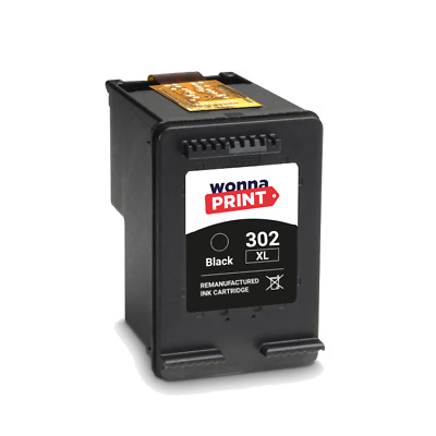 Refilled HP 302 XL Black Ink Cartridges For HP Envy 4527 Inkjet • 34.99£