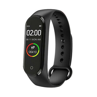 $ CDN8.97 • Buy M4 BT 4.0 Smart Watch Sports Wristband Heart Rate Fitness Bracelet Waterproof A