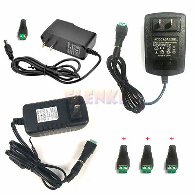 $5.79 • Buy AC100-240V To DC 12V 1A/2A/3A Power Supply Adapter Transformer For LED Strip US