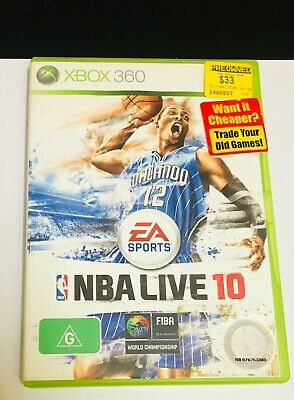 AU12.99 • Buy NBA LIVE 10 - Game For Xbox 360 *With Warranty & Free Postage*