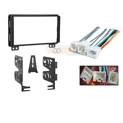 $35.99 • Buy Double DIN Car Radio Install Kit Amplifier Harness For 2003- 06 Ford Expedition