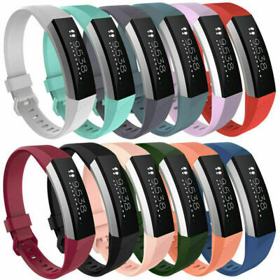 $ CDN14.12 • Buy Sport Silicone Replacement Wrist Band Strap For Fitbit Alta HR Watch Small/Large