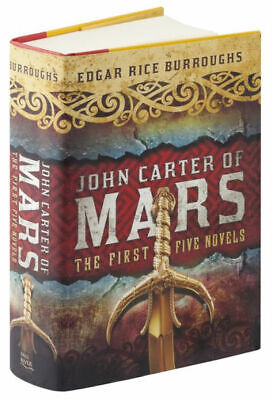$24.95 • Buy John Carter A Princess Of Mars Series Omnibus Collection HARDCOVER  By Edgar ...