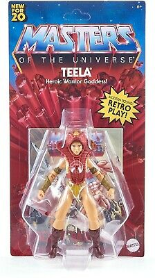 $29.89 • Buy ✅2020 MASTERS OF THE UNIVERSE ORIGINS TEELA FIGURE WALMART EXCLUSIVE✅ Free Ship✅