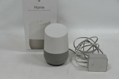 AU84.95 • Buy  Google Home Smart Speaker - White - Model: GA3A00484A09