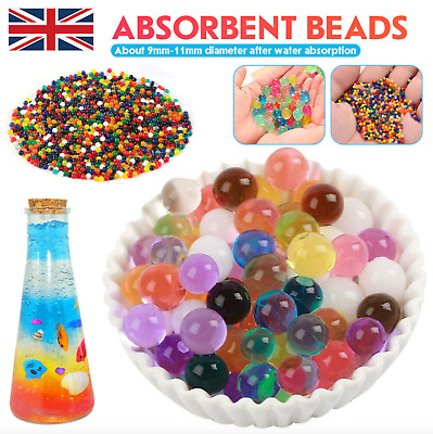 AU8.93 • Buy 50000 Orbeez Water Aqua Soil Crystal Bio Gel Balls Beads Decoration Vase Filler