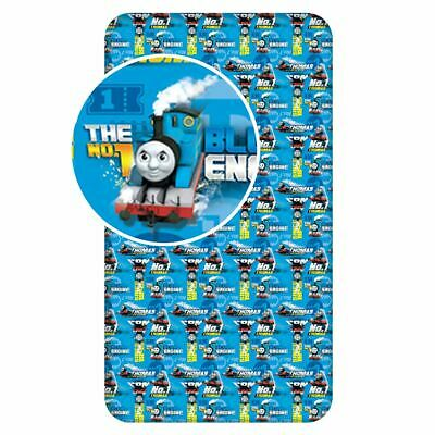 Thomas The Tank Engine Single Fitted Sheet 100% Cotton Bedding Childrens • 13.99£