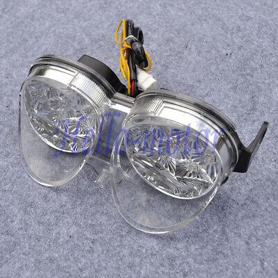 $30 • Buy Clear LED Taillight Brake Turn Signal Light For Yamaha YZF R6 2001-2002 YZFR6