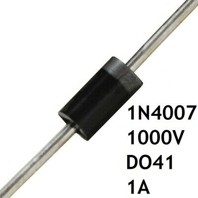 $ CDN2.29 • Buy Lot De 10 Diodes 1N4007 1000V 1A DO-41 Pont Redresseur Axial Commutateur THT FR